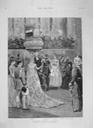 1888 The Royal Wedding (of Princess Irene) in Berlin