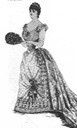 1888 Worth gown for Princess Mathilde
