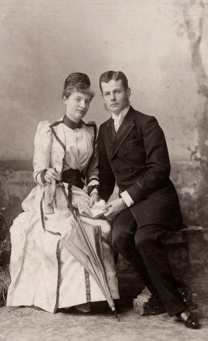 1889 archduchess margarethe klementine of austria with for Albrecht hesse
