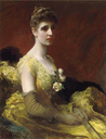 1889 (exhibited) Mrs. Dixon of Rheda by James Sant (auctioned by Christie's)