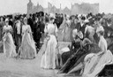 1889 Garden Party in Honour of the Shah at Hatfield House, the Seat of the Marquis of Salisbury