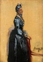 1889 Lady Octavia Shaw-Stewart by John Lavery (Glasgow Museums Resource Centre - Glasgow UK)