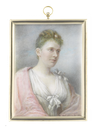 1889 Miss Cecily Winifred Spencer Stanhope (b. circa 1871-1904) by Augusta Cougnard (auctioned by Bonhams)