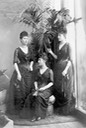 1889 Princesses Louise, Maud, and Victoria of Wales by Lafayette Photographic Studios From the lost gallery's photostream on flickr