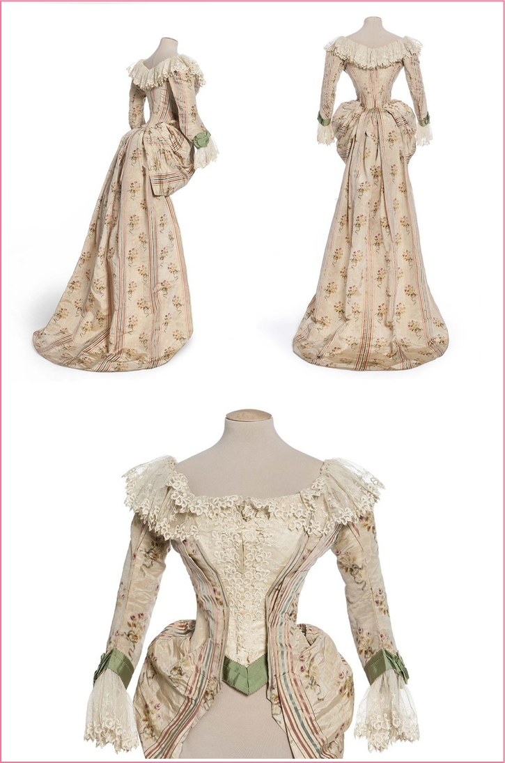 1890 Bodice with train From costumehistory.tumblr.com-search-1890-