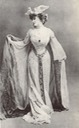 1890s Daisy, Countess of Warwick in theatrical dress