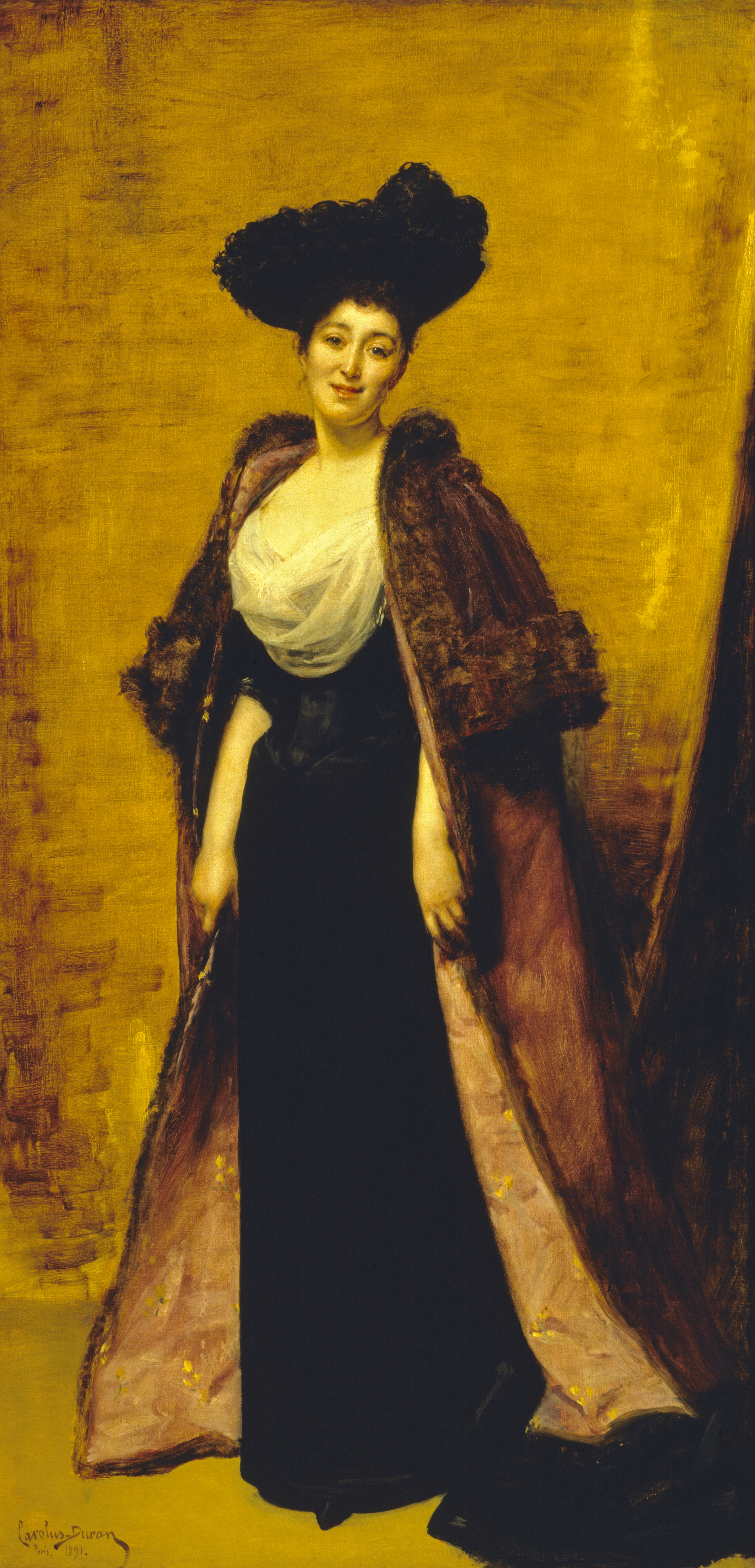 1891 Maggie On Her Honeymoon In France By Emile Auguste