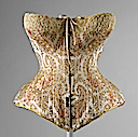 1891 Maison Léoty corset (Metropolitan Museum of Art - New York City, New York USA)