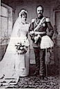 1891 Wedding of Louise d'Orléans and Alfons von Bayern