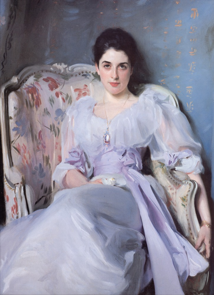 1892-1893 Lady Agnew by John Singer Sargent (National Galleries of Scotland - Edinburgh UK)