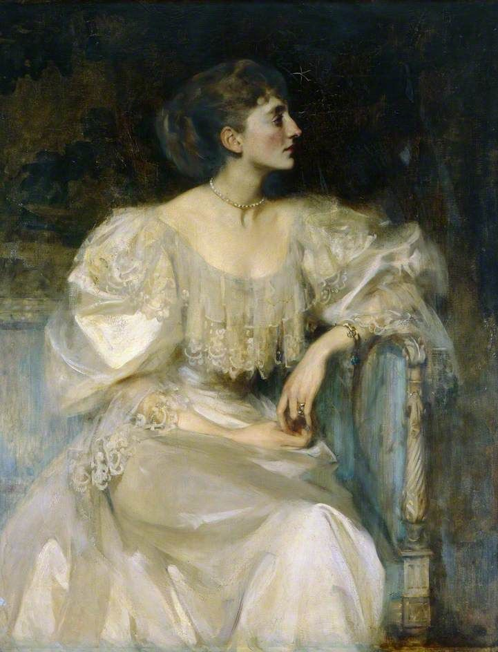 1894 Diana MacDonald by Sir James Jebusa Shannon (location ?) From pinterest.com/conedog726/women-in-art/.jpg