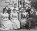 1894 Guests at Ernie and Ducky's wedding at Coburg