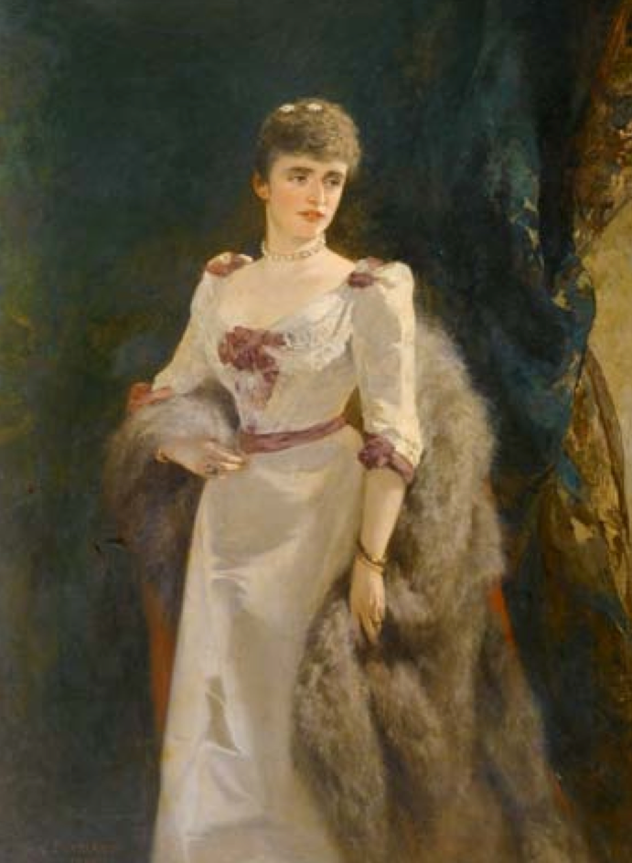 1894 Lady Muriel Hay by Carl Suhrlandt (auctioned by Koller Zurich)