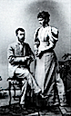 1894 Alexandra and Nicholas photo