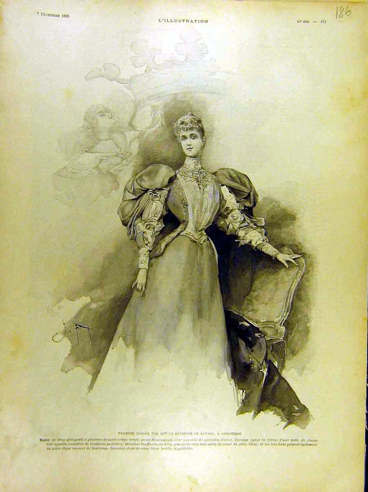 1895 Duchesse de-Luynes from l'Illustration EB