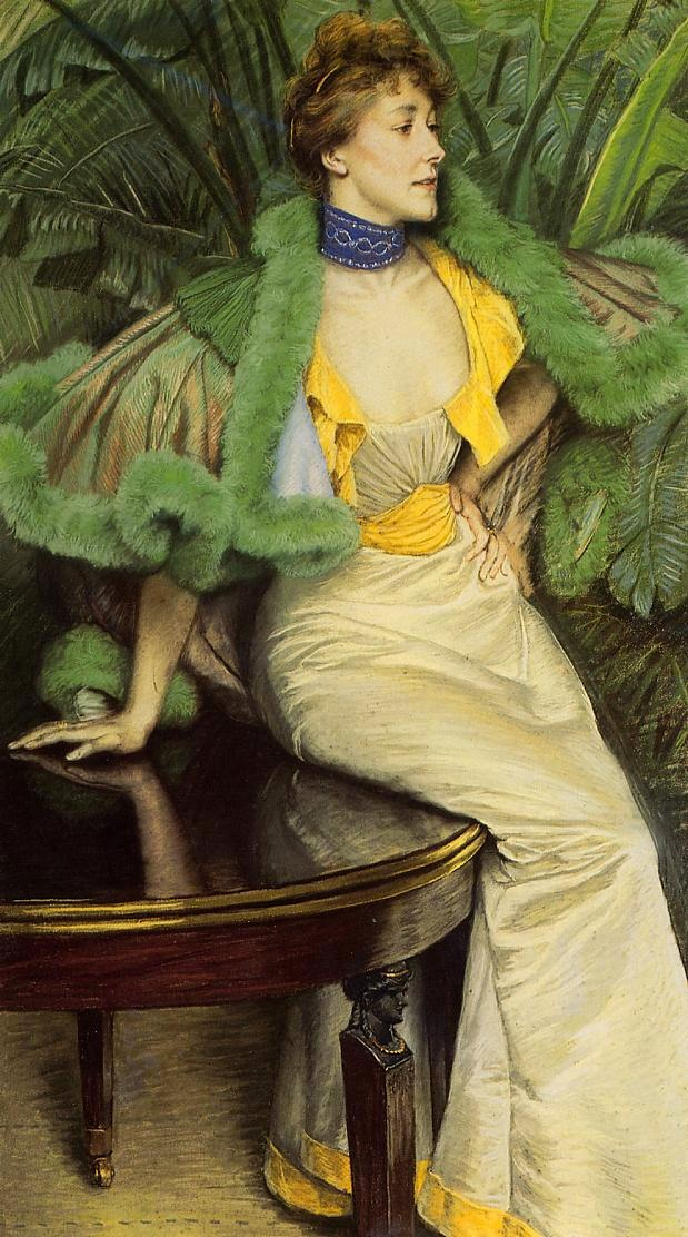 1895 Princesse de Broglie by James Jacques Joseph Tissot (private collection)