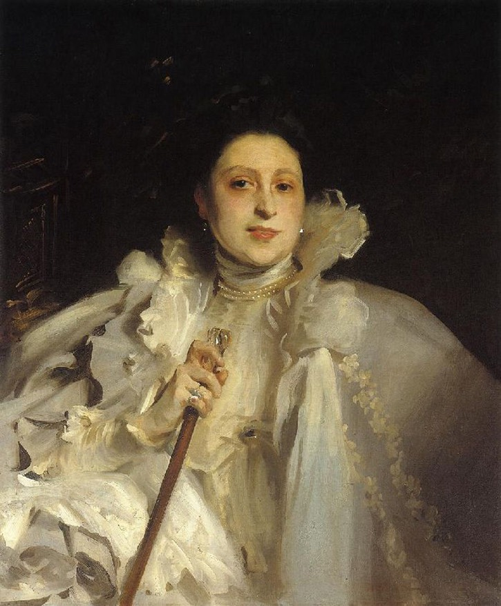 1896 Countess Laura Spinola Nunez del Castillo by John Singer Sargent (private collection) UPGRADE eBay