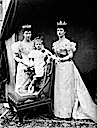 1896 Alexandra, Princess (Royal) Louise, and Lady Alexandra Duff