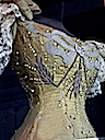 1896 Marie of Romania's gown to Nicholas II's coronation - closeup
