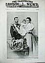 1896 Tsaritsa Alexandra, Tsar Nicholas, and Grand Princess Olga