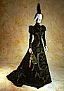1897-1898 reception dress worn by Countess Greffulhe by Worth
