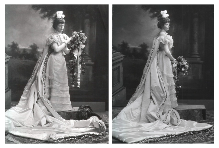 1898 Jemima Blackwood (later Lady Laveson) by Lafayette Photographic Studio front and back quarter images From www.liveinternet.ru-users-arin levindor-post113079788- removed glass cracks