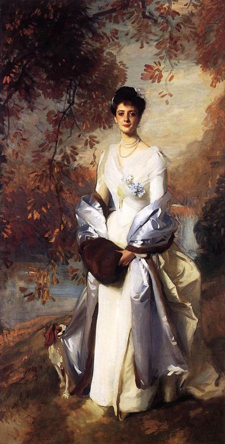 1898 Pauline Astor by John Singer Sargent (Huntington Library, San Marino California)