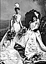 1899 Debutantes Lady Blanche Ruth Brooke Tatton Grieve and Mrs. Bouchier, née Flora Bathurst Greive