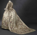 Altered 18th century court costume worn by Marie Antoinette
