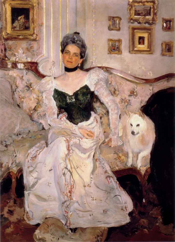 1900-1902 Zinaida Yusupova by Valentin Serov (State Russian Museum - St. Petersburg Russia) From the lost gallery's photostream on flickr