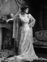 1900 Countess Markievicz in ball gown by ? From the lost gallery
