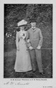 1900 Wilhelmia and Hendrik businesslike engagement picture eBay exp. reduced inc. contrast detint