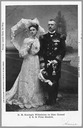 1900 Wilhelmia and Hendrik feminine and masculine engagement picture