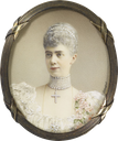 1900s Thyra, Duchess of Cumberland, Crown Princess of Hanover by Johannes Zehngraf (Royal Collection)