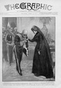 1901 Queen Margherita of Italy at the Italian court