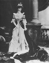1902 Consuelo Vanderbilt (married to the Duke of Marlborough) at the coronation of Edward VII