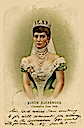 1902 Queen Alexandra coronation commemorative card