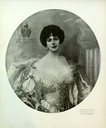 1904 Contessa Anna Morosini print by or after Vittorio Matteo Corcos From liberty.beniculturali.it/index.php?it/146/iconografica/399/corcos-vittorio-ritratto-della-contessa-anna-morosini