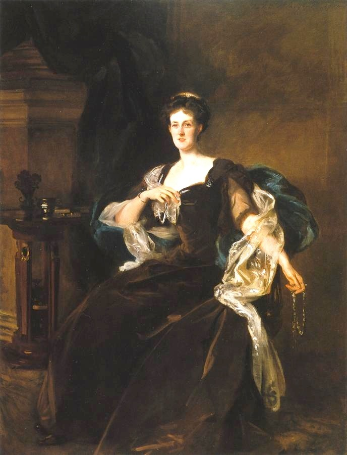 1904 Countess of Lathom by John Singer Sargent (Chrysler Museum of Art, Norfolk Virginia) mod