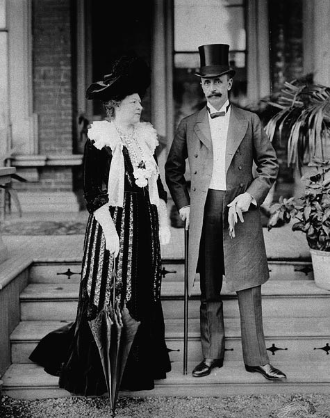 1904 Earl and Countess Grey by Galbraith Photo Co. (Library and Archives Canada/Bibliothèque et Archives Canada) From flickr.com/photos/lac-bac/ stamp removed from lower rt. quadrant