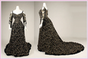 1904 Morin-Blossier court dress with bare shoulder bodice (Metropolitan Museum of Art - New York City, New York, USA) front From the museum's Web site