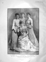 1904 Thyra and her daughters in The Graphic from prints-4-all