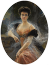1905 Elena Vladimirovna by François Flameng (auctioned by Sotheby's) From Sotheby's