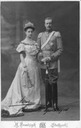 1906 Duke Robert of Wurttemberg with spouse, Duchess Maria Inmaculata, neé Archduchess of Austria-Tuscany