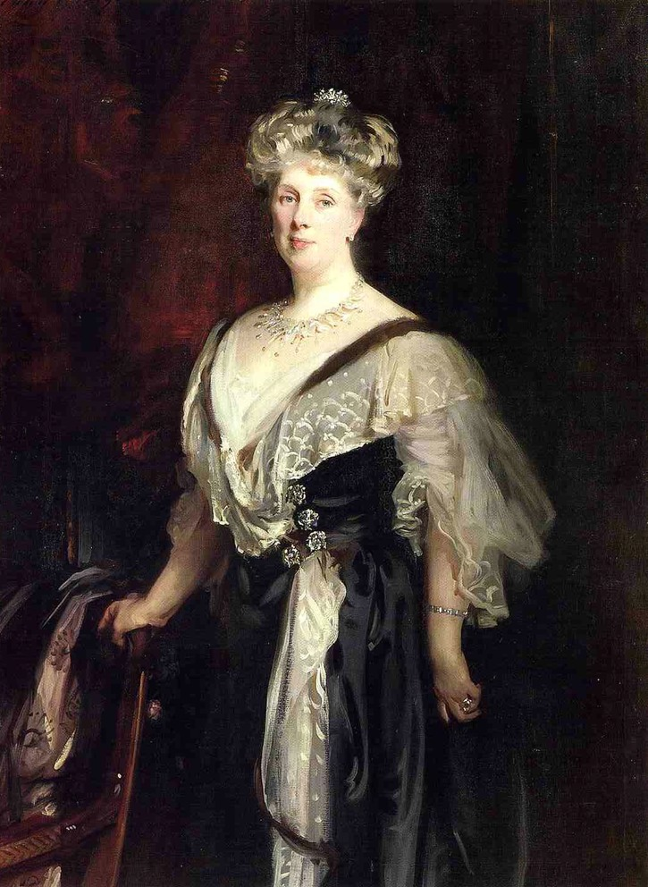 1906 Lady Caroline Williamson by John Singer Sargent (private collection)