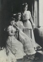 1906 Sisters Marie of Romania, Grand Princess Victoria Melita, and Princess Beatrice of Orléans Borbón