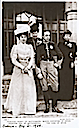 1906 Queens Maria Cristina and Victoria Eugenia and Princess Beatrice