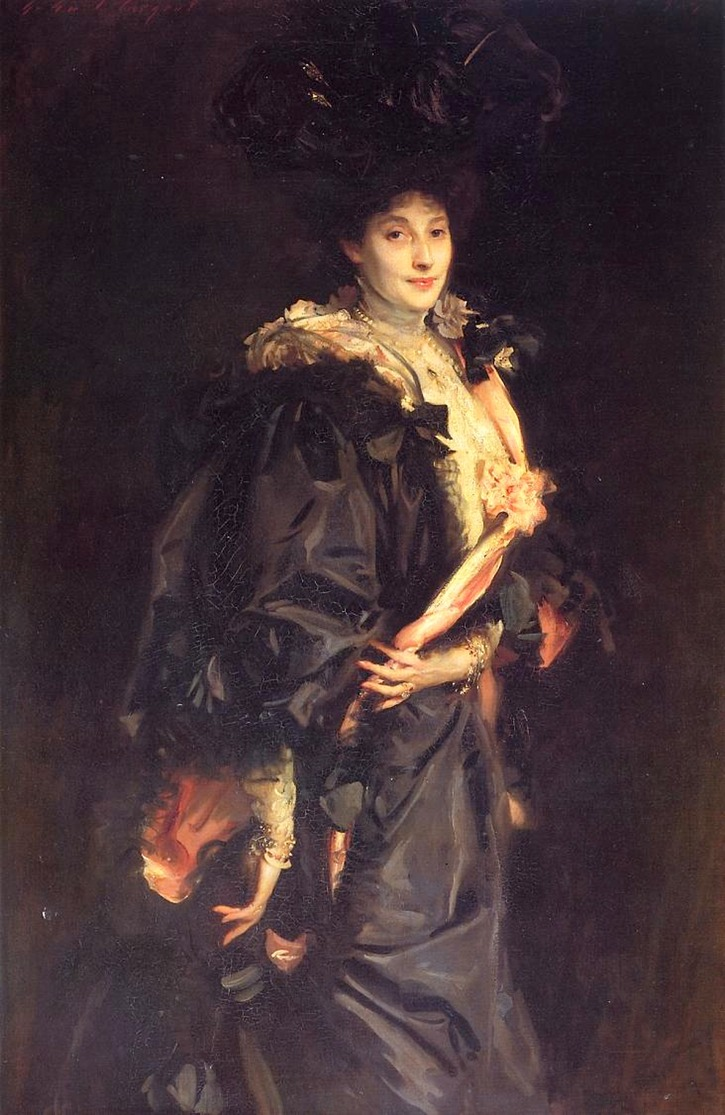 1907 Lady Sasson by John Singer Sargent (private collection) mod