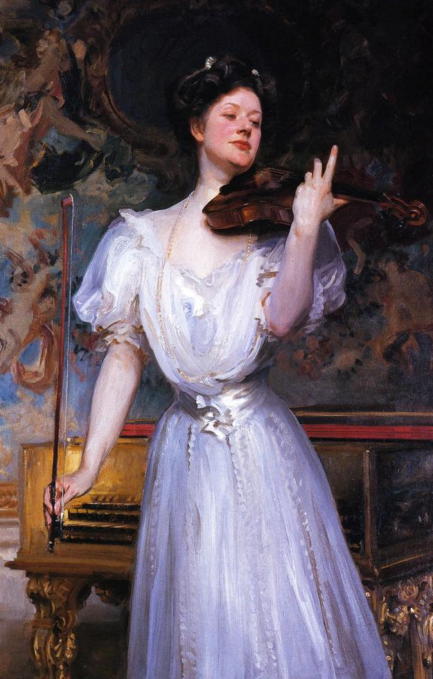 1907 Lady Speyer (Leonora von Stosch) by John Singer Sargent (private collection) cropped