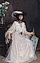 1907 Lady Evelyn Farquhar by Sir John Lavery (auctioned by Sotheby's)
